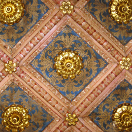 Palazzo ducale estense stanza dorata - Decorazioni stanza ...