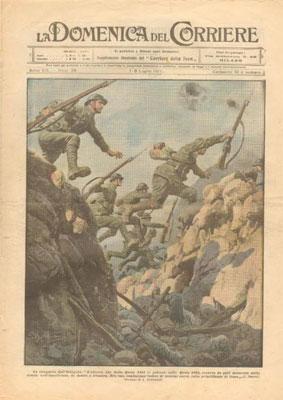 Copertina de La Domenica del Corriere